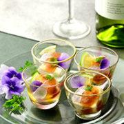 ささ燻 小鯛のライム柚子胡椒ジュレ